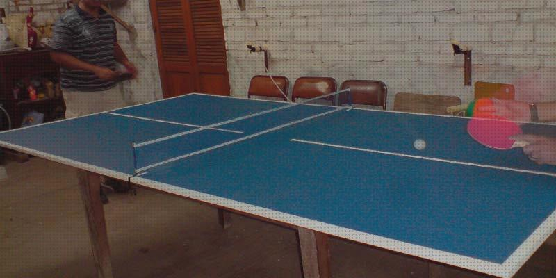 Review de tablero ping pong plegable