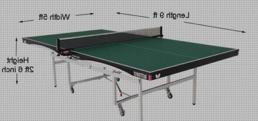 Los 0 Mejores Ping Pong Tablet Measurements