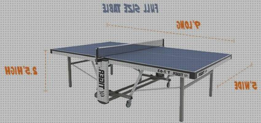 Mejores 4 Standard Ping Pong Tablet Size